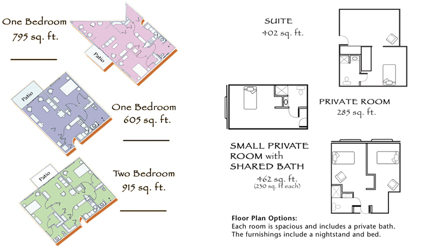 Carveth Village Floor Plans